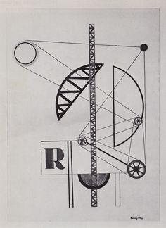 Láslsó Moholy-Nagy — Collage R Walter Gropius, Laszlo Moholy Nagy, Francis Picabia, Bauhaus Art, Composition Art, Cool Typography, Mixed Media Collage, Design Crafts, Painting & Drawing
