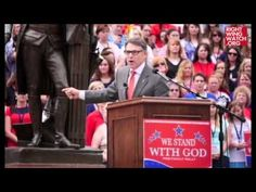 'Onward Christian Soldiers!': Rick Perry Will Clear The Greed And Corruption Out Of Washington, D.C., Just Like Jesus