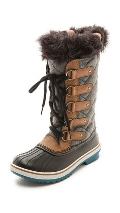 Sorel Tofino Faux Fur Lined Boots, snow / winter style