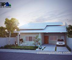 casas com telhado cinza - Pesquisa Google