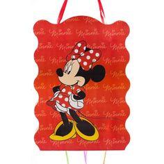 Pinata cu panglici Minnie Mouse