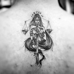 37 Gorgeously Libra Tattoo Ideas That Will Make Other Signs Jealous – Constellation Tattoo Libra Tattoo, Libra Zodiac Tattoos, Soul Tattoo, Libra Scale Tattoo, Girly Tattoos, Cute Tattoos, Small Tattoos, Awesome Tattoos, Spine Tattoos