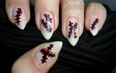 """Improbable Nails: """"We're all made of scars"""" nails"""