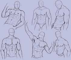 Man Anatomy Practice 2 by KingMaria on deviantART