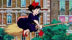 Screencap Gallery for Kiki's Delivery Service Bluray, Studio Ghibli). Kiki Delivery, Kiki's Delivery Service, Hayao Miyazaki, Anime Date, Studio Ghibli Movies, Film Studio, Manga, Aesthetic Anime, Magical Girl