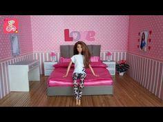 Cómo hacer un caso-compartimiento y un gancho de ropa para muñecas Monster High / Muza rukodeliya - YouTube
