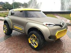Renault showcased it all-new KWID Concept at the Delhi Auto Expo and here are a few pictures of it in the flesh Vintage Cars, Antique Cars, Yacht Design, Car Crash, Car Engine, Police Cars, Custom Cars, Concept Cars, Super Cars