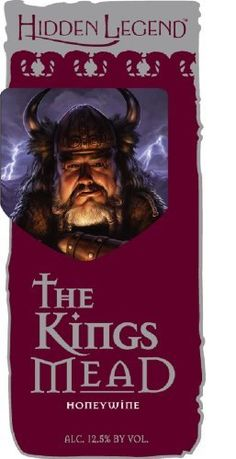 """NV Hidden Legend """"The King's Mead"""" 750 mL Known in Greek Mythology as """"necter of the gods,"""" mead became the exclusive drink of royalty. Our King's Mead wine Honey Mead, Mead Wine, Honey Wine, Grocery Deals, Yummy Drinks, Old World, Gourmet Recipes, Wines, Old Things"""