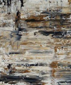 Acrylbild auf Leinwand – Rakelkunst – Rakel 47 – 100 x 120 cm -AbstrakteKunstDeppe.de