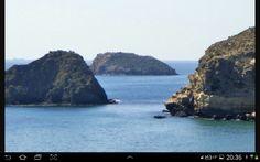 Islas de Terreros Almeria.Spain .