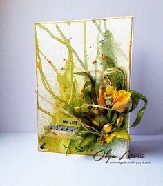 ✈ ScrapOblaka: Весенняя открытка