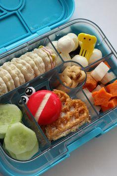 Neue Bento Brotdosen Ideen für Kinder, Schule und Kindergarten, Yumbox Ideen