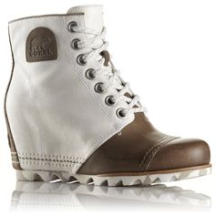 Sorel 1964 Premium Wedge Boot Sorel premium 1964 wedge boot in Sea salt brand new in box. Sold out on nordstroms website! So cute with a parka! Sorel Wedge Boots, Timberland Boots, Heeled Boots, Top Shoes, Wedge Shoes, Wedge Bootie, High Shoes, Wedge Sandals, Shoes