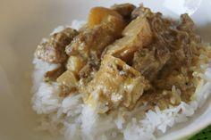Beef Curry Slow Cooker Recipe