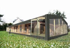 quinze a agence darchitecture rennes 35 ile et vilaine spcialise dans la construction de btiment basse consommation maisons passives et btiments - Cout De Construction Maison