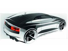 Sketch de Segunda Audi Quattro Concept by Ernest Tsarukyan — Car Design HUE Audi Quattro, Car Design Sketch, Car Sketch, Automobile, Industrial Design Sketch, Motorcycle Design, Car Drawings, Transportation Design, Automotive Design
