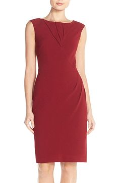 Adrianna Papell Origami Pleated Sheath Dress available at #Nordstrom