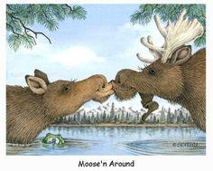 Moose'n Around