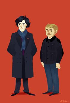 """You, being all mysterious with your cheekbones and turning your coat collar up so you look cool.""-John Watson"