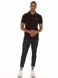 Ngan Polo Shirt in Black