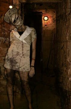 This is what I want to be for Halloween!  Silent Hill Nurse
