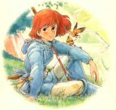 Nausica, Hayao Miyazaki