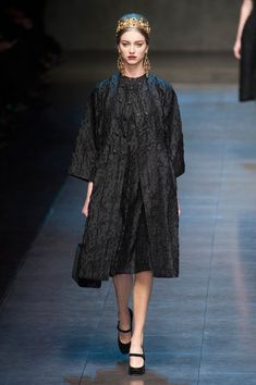 Dolce & Gabbana at Milan Fashion Week Fall 2013 - StyleBistro