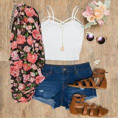 Trendy Outfits for Teens Teen Fashion Outfits, Mode Outfits, Cute Fashion, Trendy Outfits, Tween Fashion, Girl Fashion, Fashion Clothes, Outfits 2016, Cute Outfits For Parties