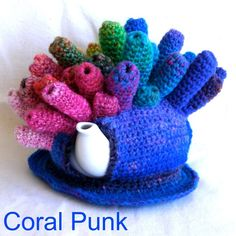 Coral Punk - tea cosy | by Queen of the Tea Cosies