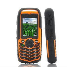 Fortis - Dual SIM Mobile Phone - Orange Color (Rugged Waterproof, Dustproof, Shockproof)