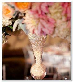 Pearl Vase Fillers Weddings