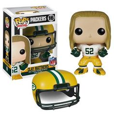 NFL Pop! Vinyl Figure Clay Matthews [Green Bay Packers] I need this for my desk at work
