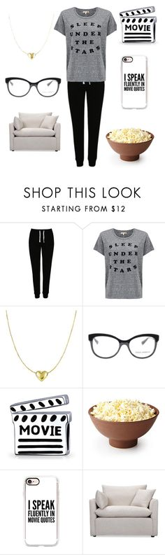 """""""Movie Night With Synyster Gates"""" by demonlover2002 on Polyvore featuring George, Sundry, Dolce&Gabbana, Bling Jewelry, Casetify and Volo Design"""