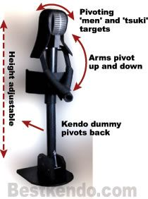 make your own kendo dummy