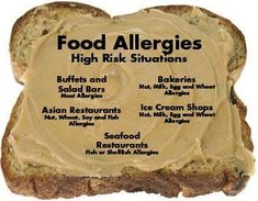 Why is the incidence of food allergies rising in both adults and children? Cashew Allergy, Tree Nut Allergy, Egg Allergy, Peanut Allergy, Signs Of Food Allergies, Kids Allergies, Allergy Free Recipes, Gluten Intolerance, Seafood Restaurant