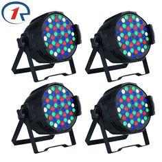 331.17$  Buy here - http://alirhv.worldwells.pw/go.php?t=32754492066 - ZjRighrt 4pc/Lot 180W RGBW 54 LED Par light DMX512 concert led par light Sound control PRO stage light for Party DJ disco light 331.17$