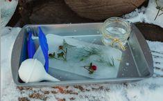 winter ice tray