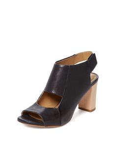Ben Cut-Out Sandal from Summer Trend: Block-Heel Sandals on Gilt
