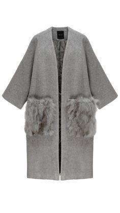 Sophy Fox Fur Coat | LOÉIL |