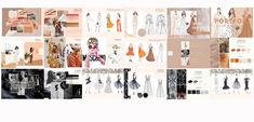 Fashion Portfolio Downloadable Template Fashion Design Books, Fashion Design Sketchbook, Fashion Graphic Design, Drawing Fashion, Fashion Portfolio Layout, Portfolio Examples, Portfolio Design, How To Make Clothes, Making Clothes