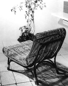 Chair by Janine Abraham, 1 9 5 6.: Design Inspiration, Dirk Jan, Bamboo Chairs, Interiors Design, Neat Chairs, Janin Abraham, Furniture Design, Jan Rol, Design Stuff