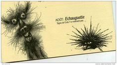 FRANQUIN - DELPORTE. L'HORRORSCOPE 1989. TRES RARE CARTE DE VOEUX  DES EDITIONS DUPUIS, SOUS FORME DE DEPLIANT.