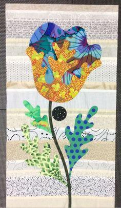 Flower Garden, Kim McLean - Block 23 (Laila Nelson)