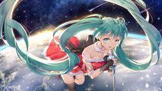 Vocaloid, anime girl, hatsune miku wallpaper