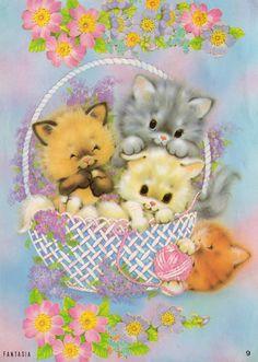 Fantasia 9 #papeldecarta #kitten #cats