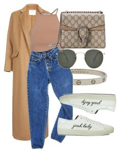 """""""#Look:#531"""" by dollarwomanlux ❤ liked on Polyvore featuring Topshop, NLY Trend, Cartier, PèPè, Gucci, Yves Saint Laurent and Ray-Ban"""