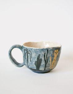 Leopard Mug by Karin Hagen 3