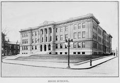 New Bedford High School - New Bedford, MA. RK - this may be the high school my father attended