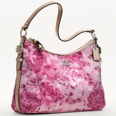 pink handbags | Coach Madison Floral Pink Handbag Giveaway ends 2/14 - Powered By Mom