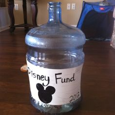 Wonder if I could build it into the wall or something, we def need a permanent Disney savings fund